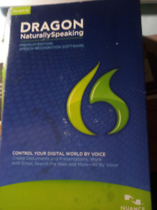 Dragon Naturally Speaking for Windows 7