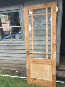 Antique inside door