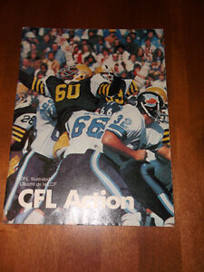 CFL CARDS -- CFL MAGAZINES & NFL CARDS Cornwall Ontario image 4