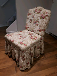 Small Floral Print Chair