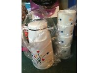 Insulated thermos and cups brand new