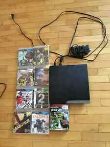 PS3 with Games for Sale London Ontario image 1