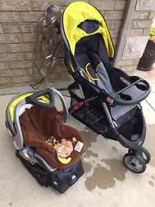 stroller car seat and car seat base combo