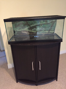 30 Gallon Tank with stand & lid, need gone asap!