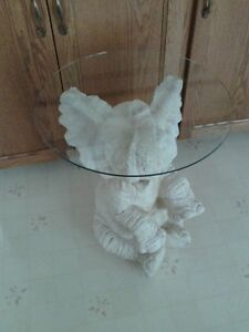 elephant with glass top
