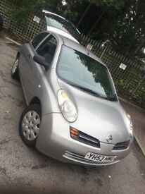 2003 Nissan Micra 1.2 full MOT and serviced