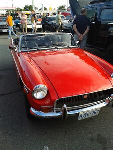 1972 Red MGB
