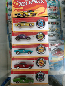 Hot Wheels 50th anniversary set of 5 cars