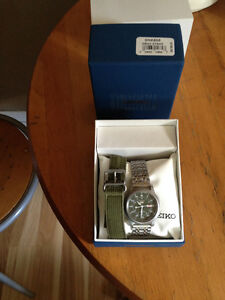 Military style Seiko Automatic watch!