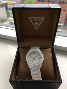 White Guess Toy Watch