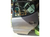 Mercedes A rear passenger door silver