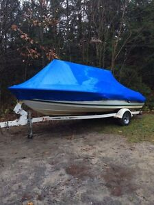Portable boat shrink wrapping
