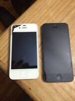 Ipnone 4 and 5 for sale