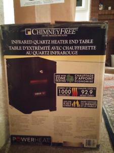 Infrared quartz heater very efficient