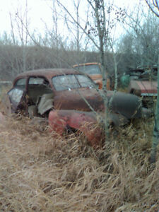 Classic car for parts