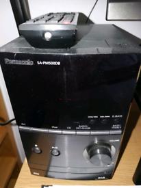Panasonic micro CD/usb/Ipod/DAB radio/remote control