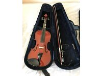 Violax3 and guitar.all with cases.like new
