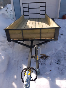 """4'4.5 x 9'10""""utility trailer for sale"""