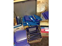 Used & unused folders x50 approx