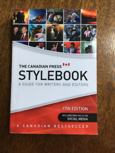 The Canadian Press STYLEBOOK - 17th Edition