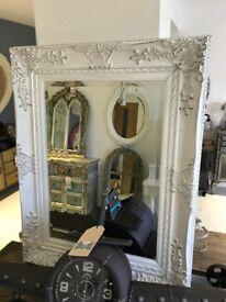 White Shabby Chic Mirror (new)
