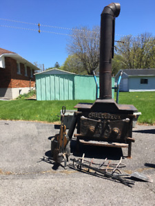 Complete wood stove
