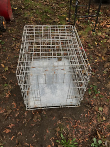 Medium pet cage , 2 doors , only 25 dollars