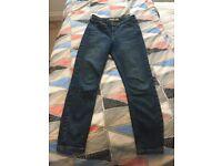 Like New TOPSHOP High Waist Skinny Jeans