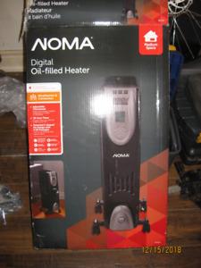 digital oil filled heater