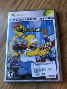 The Simpson Hit and Run Xbox