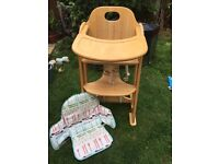Eastcoast wooden highchair