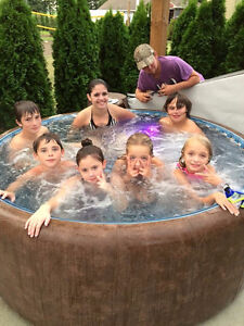 Brand New - 6 person Softtub 300-series Cambridge Kitchener Area image 5