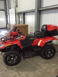 2015 Arctic Cat 700 TRV Limited With Snow Plow