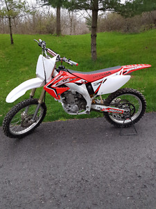 Honda CRF450R  Excellent Condition Mature Rider Lots of upgrades