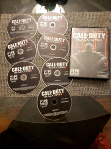 Call of Duty Black Ops 3 PC discs