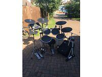 Yamaha DTXtreme 3 electronic drum kit.