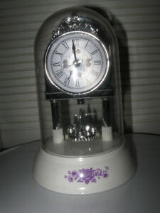 ADORABLE LITTLE BATTERY-OPERATED DOMED-TOP CLOCK