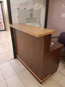 Cashier table for sale