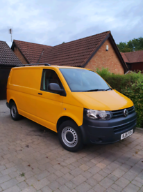 VW transporter T5 face lift with AC and 4 motion kombi not camper