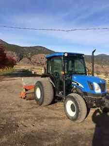 New Holland TN75DA 4x4 Diesel Tractor