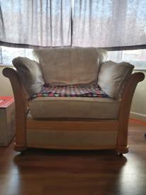 Free large one seater sofa