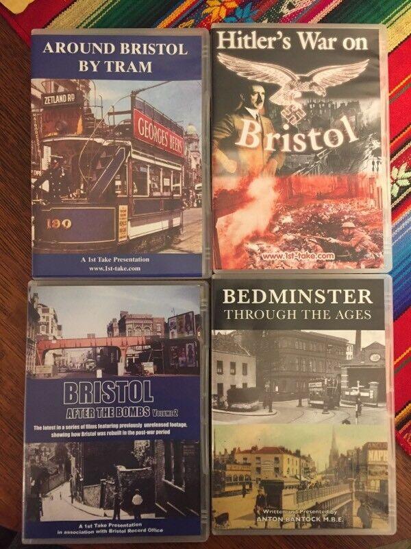Local History Bristol DVDs x4