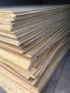 3/4 Tongue & Groove Spruce Plywood - $45 a sheet