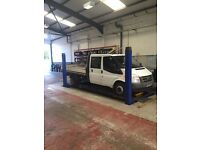 Ford transit. Crafter flatbed