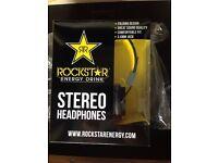 New in box limited edition rockstar headphones