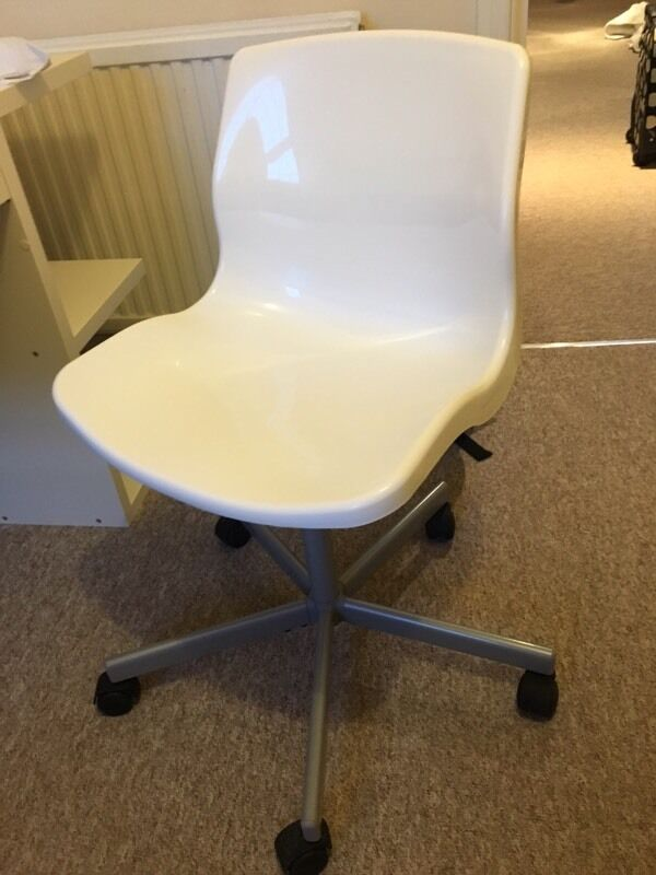 Ikea Snille White Office Swivel Chair In Bath Somerset