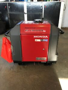 2017 Honda Inverter EU3000iS Generator