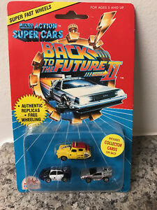 Micro Action Super Cars - Back To The Future II