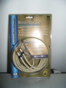 CABLES SUBWOOFER MONSTER