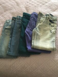 Girls jeans, size 8T&10T